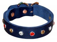 Exclusive Leather Dog Collar wit...